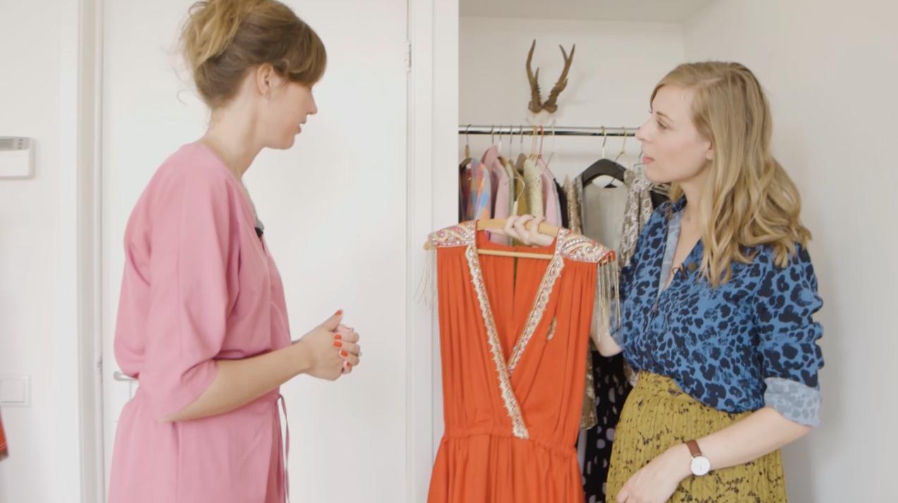 Ciska nam een kijkje in de kledingkast van Janne Colenbrander