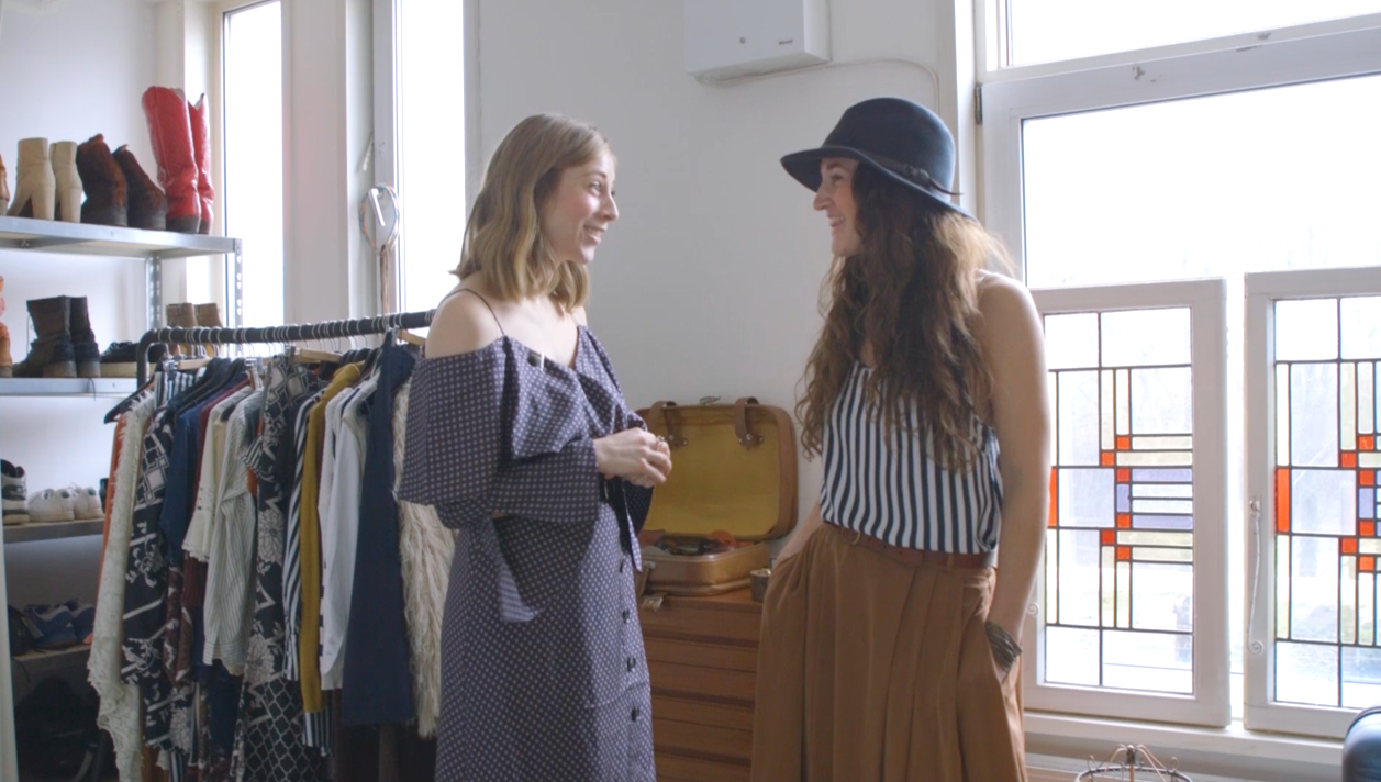 Ciska nam een kijkje in de kledingkast van Professional Wildchild Zoë van Liere