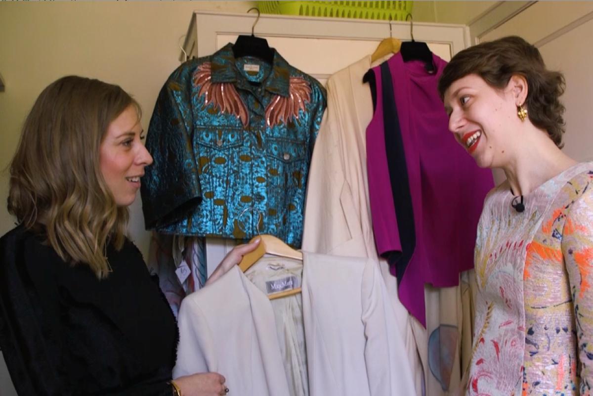 Ciska nam een kijkje in de kledingkast van Tosca Otten