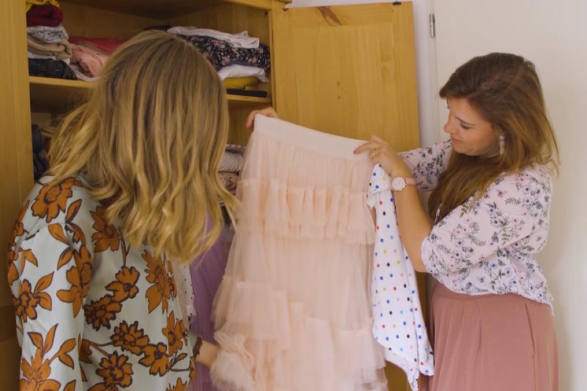 Ciska nam een kijkje in de kledingkast van Amber van Leeuwen